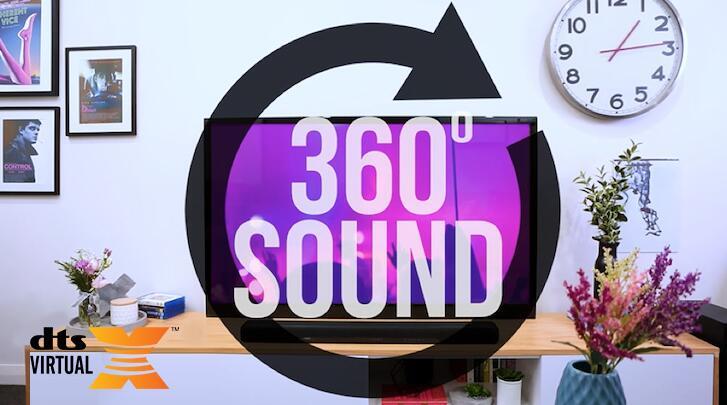 雅马哈前置环绕声系统『YAS-207』 乐享DTS Virtual:X® 3D环绕声